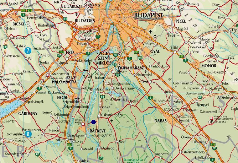 ráckeve térkép terkep ráckeve térkép